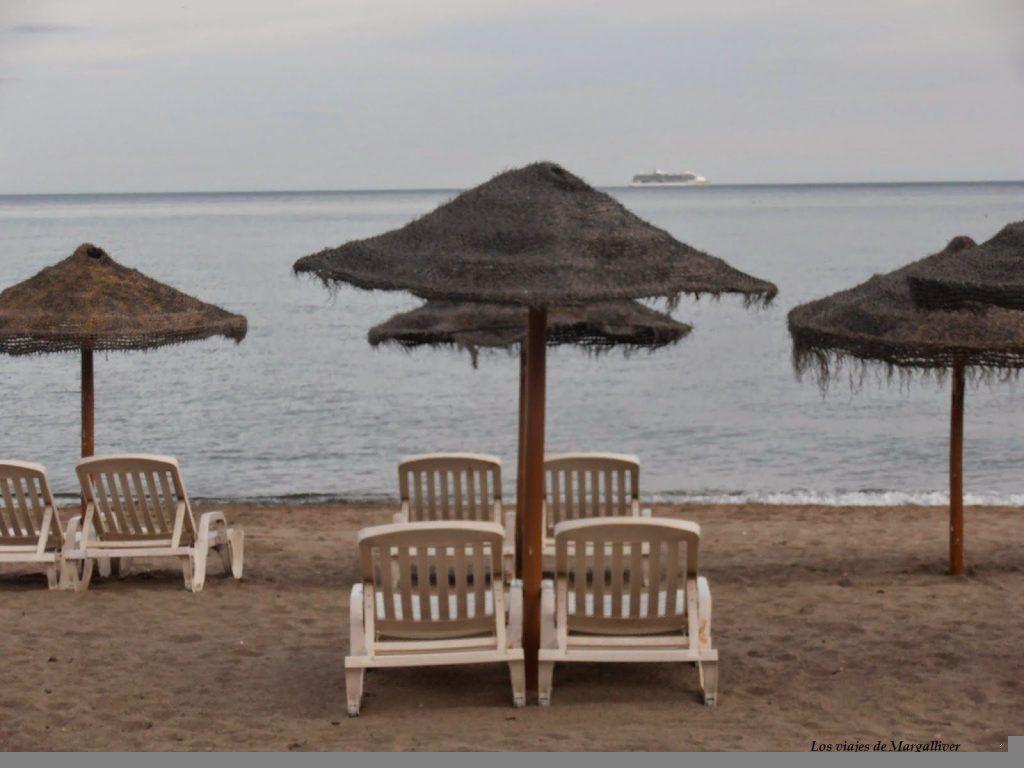 hamacas playa fuengirola