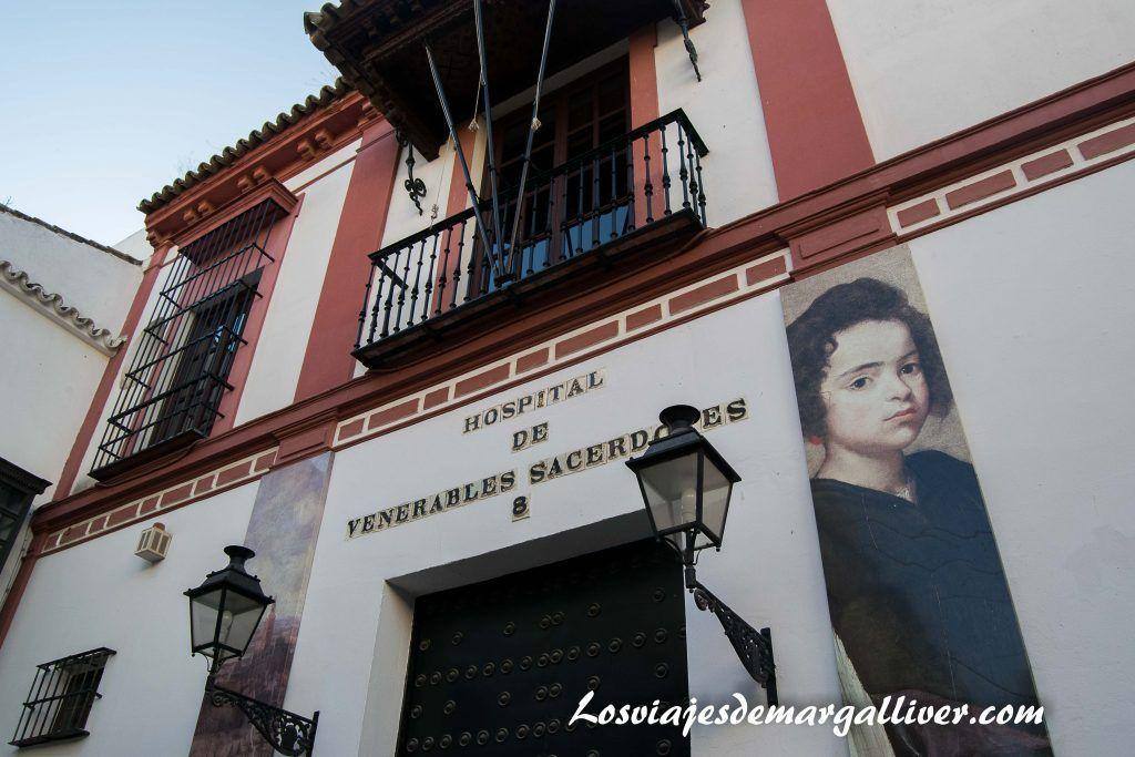 Fachada del hospital de los venerables en Sevilla - Los viajes de Margalliver