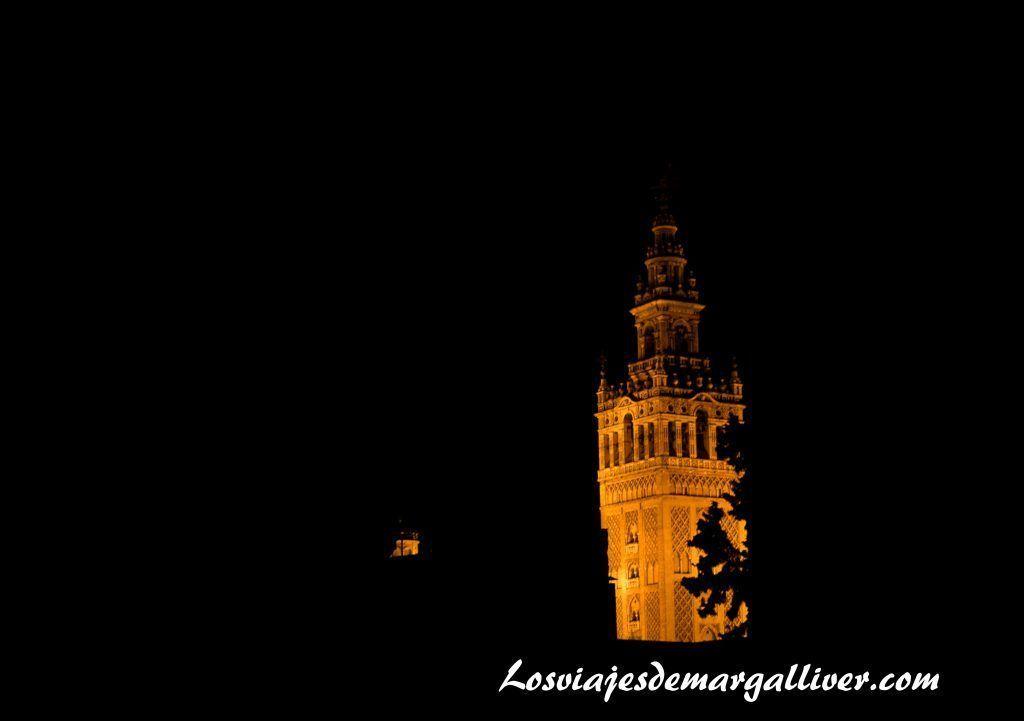 La giralda vista desde la azotea del hospita de los venerables en Sevilla- Los viajes de Margalliver