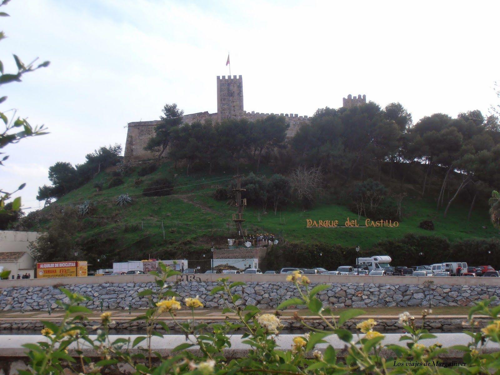 castillo Fuengirola- Los viajes de Margalliver