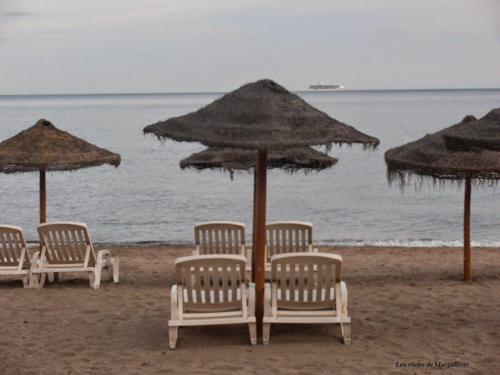 hamacas playa de fuengirola- Los viajes de Margalliver