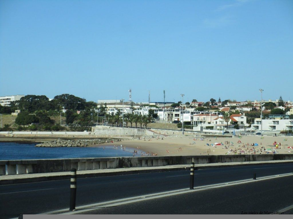 playa Cascais en Portugal - Los viajes de margalliver