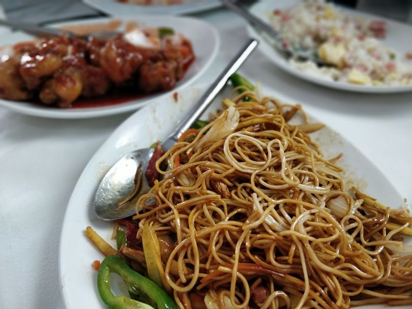 algunos de los platos del restaurante chino Shangai en Rota - Los viajes de Margalliver