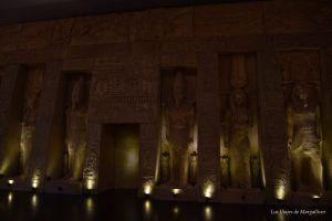 Recreación de la tumba Ramses en Sevilla- Los viajes de Margalliver