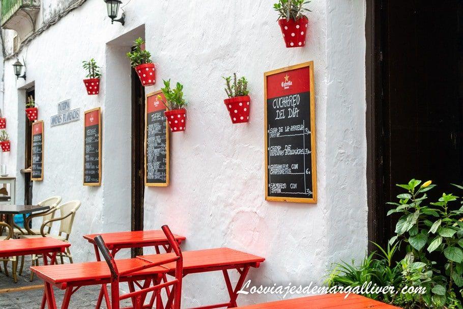 Donde comer en Arcos de la Frontera - Los viajes de Margalliver