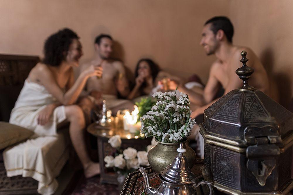 reuníon con té hamman al ándalus - Los viajes de margalliver