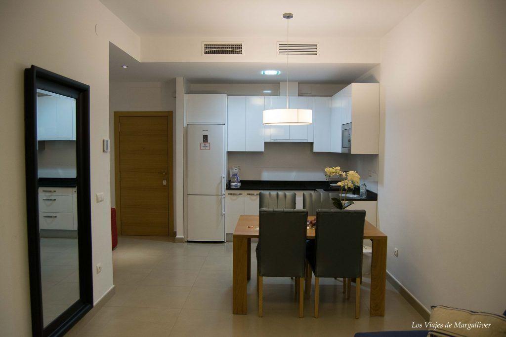 comedor apartamento suites del pintor málaga - los viajes de margalliver
