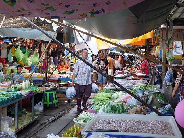 mercado Chatuchak en Bangkok 10 locuras en Bangkok - Los viajes de Margalliver