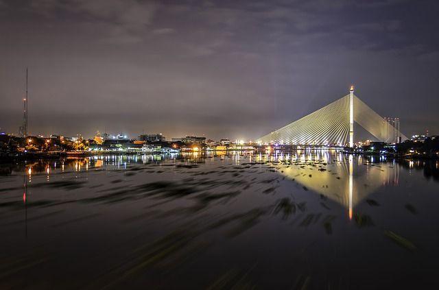 Río Chao Phraya en Bangkok ,10 locuras en Bangkok - Los viajes de Margalliver