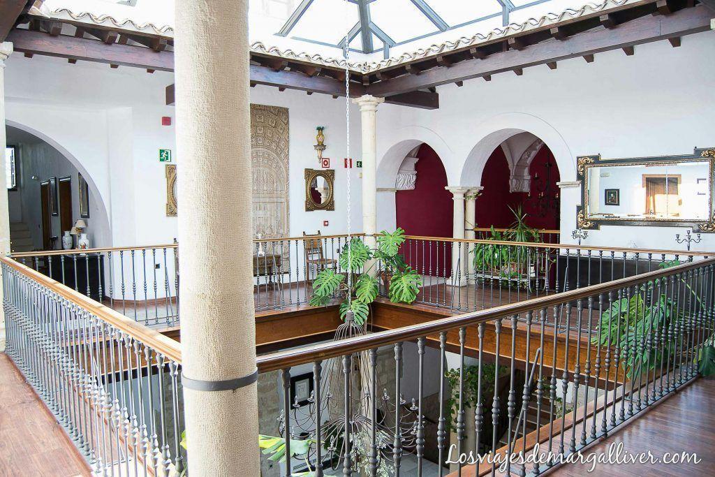 planta de arriba del hotel Casas del Consul en Úbeda - Los viajes de margalliver