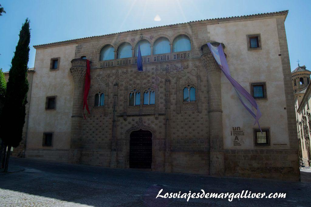 palacio jabalquinto en Baeza - Los viajes de Margalliver