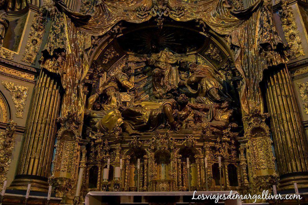 retablo de la sacra capilla del salvador en Úbeda- Los viajes de margalliver