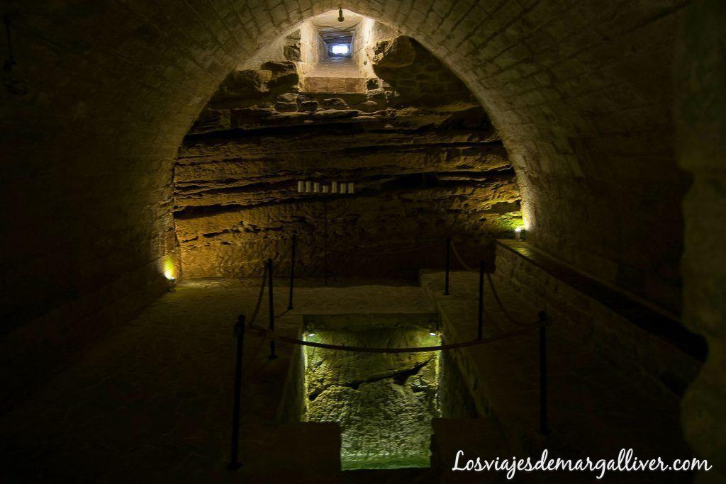 Sala MIkveh en la sinagoga del agua Úbeda- Los viajes de margalliver