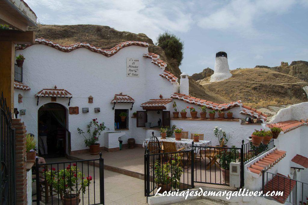 Casa Cueva el Mirador en Guadix - Los viajes de Margalliver