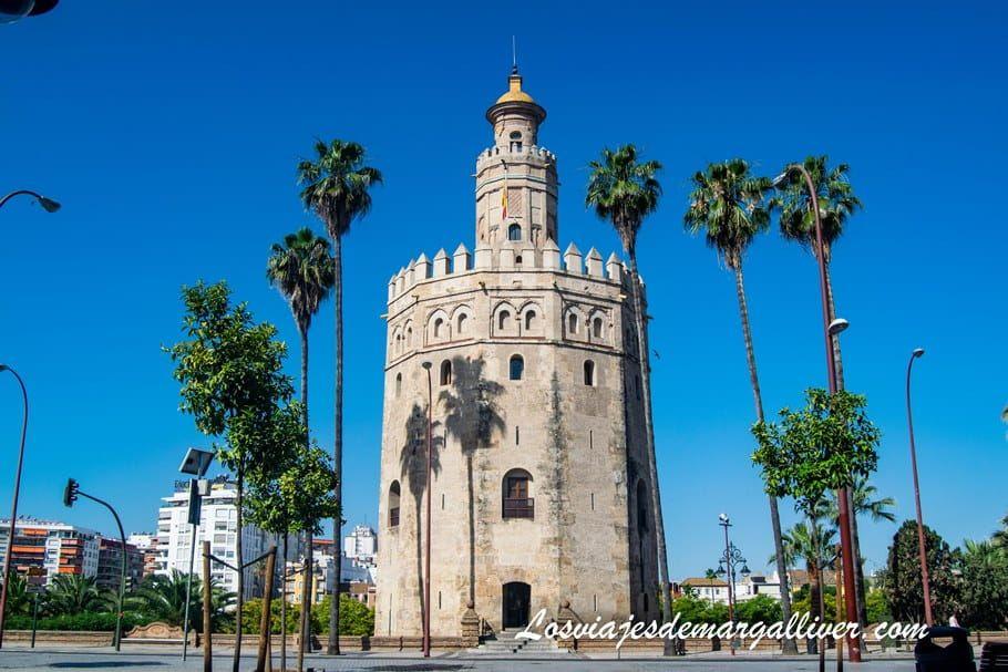 Torre del Oro en Sevilla - Los viajes de Margalliver