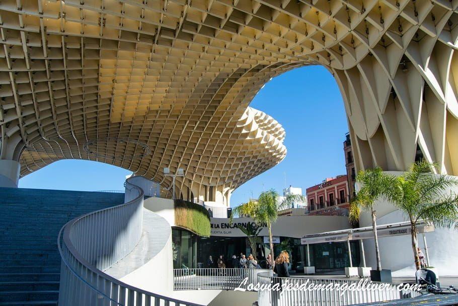 Las Setas de la Encarnación en Sevilla - Los viajes de Margalliver