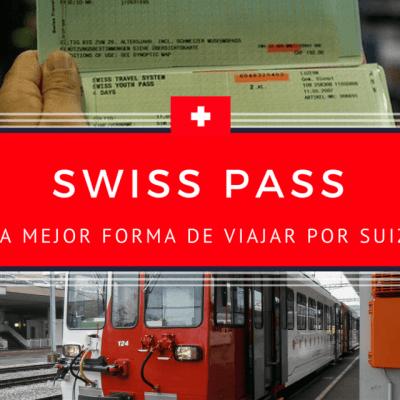 Swiss Pass, la mejor forma de viajar por Suiza