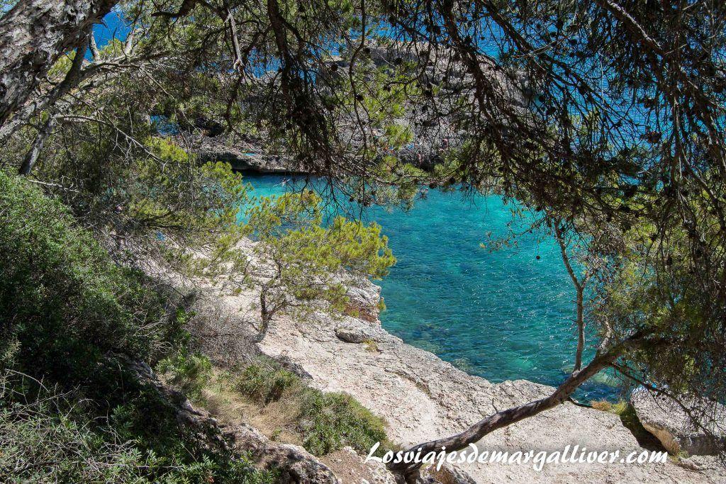 Ruta en coche por Mallorca, cala S'Almunia desde arriba - Los viajes de Margalliver