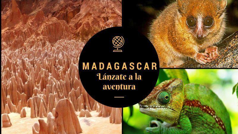 Madagascar, lánzate a la aventura