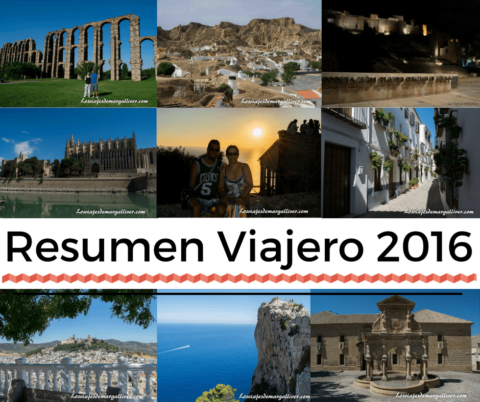 resumen viajero del 2016 - Los viajes de Margalliver