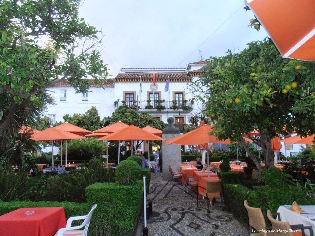 plaza de los naranjos marbella- Los viajes de Margalliver