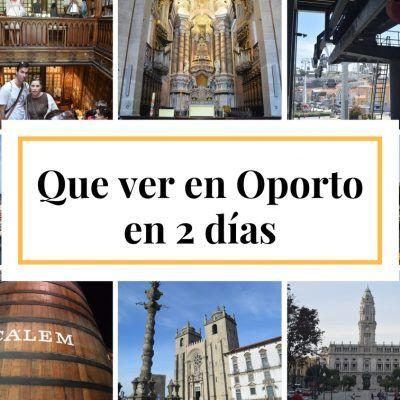 Oporto, nuestra visita de dos días