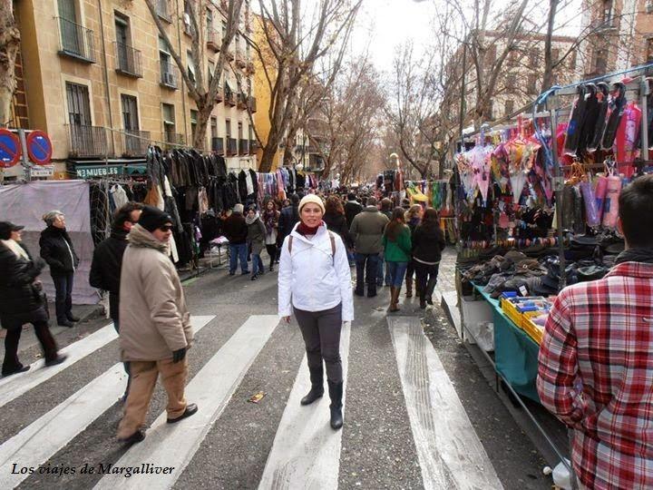 rastro de madrid- Los viajes de Margalliver