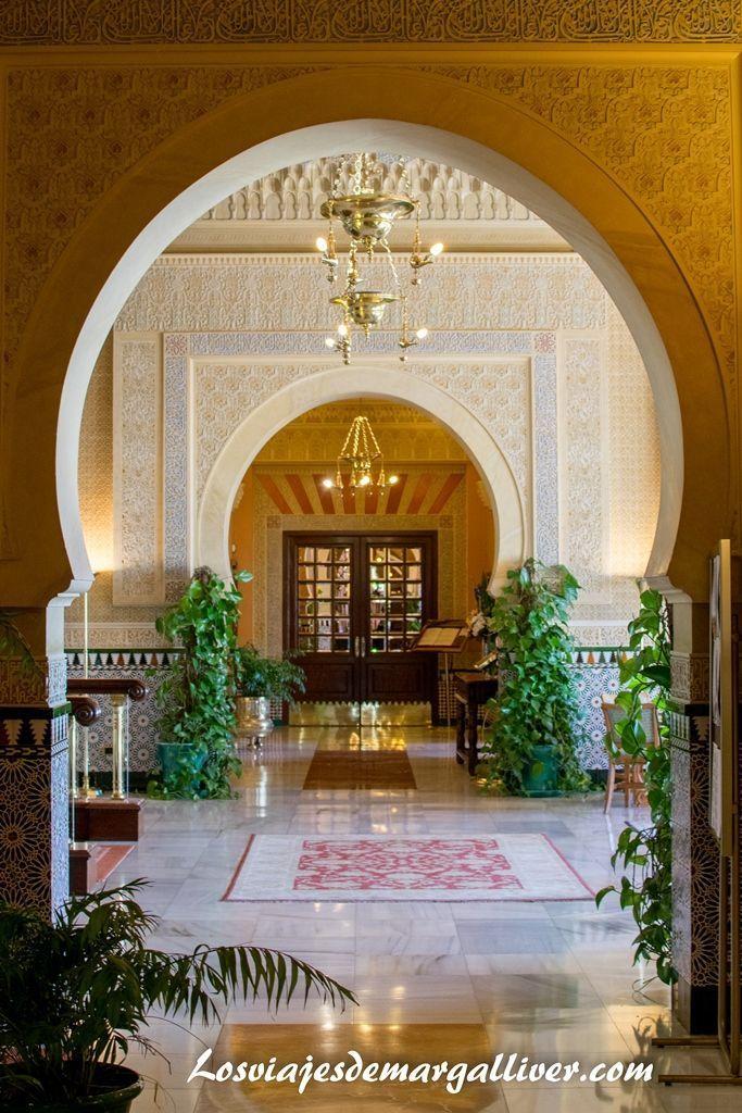 decoración hotel Alhambra Palace Granada - Los viajes de Margalliver