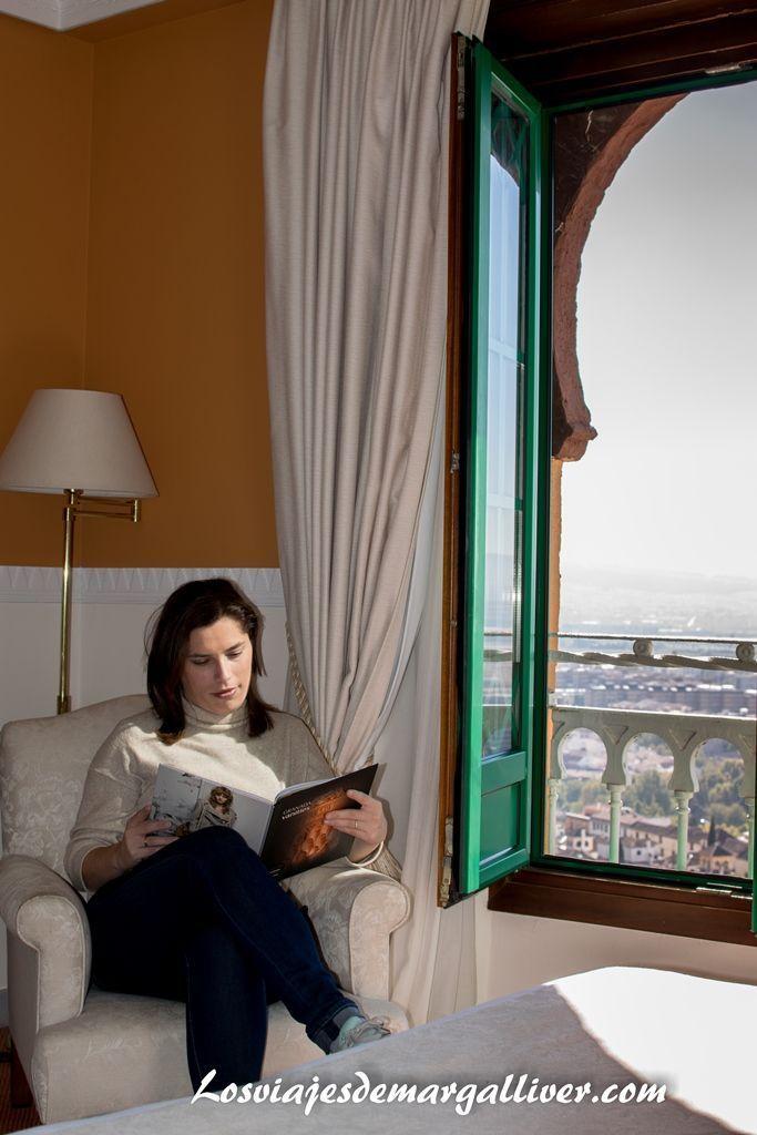 habitación del hotel Alhambra Palace en Granada - Los viajes de Margalliver