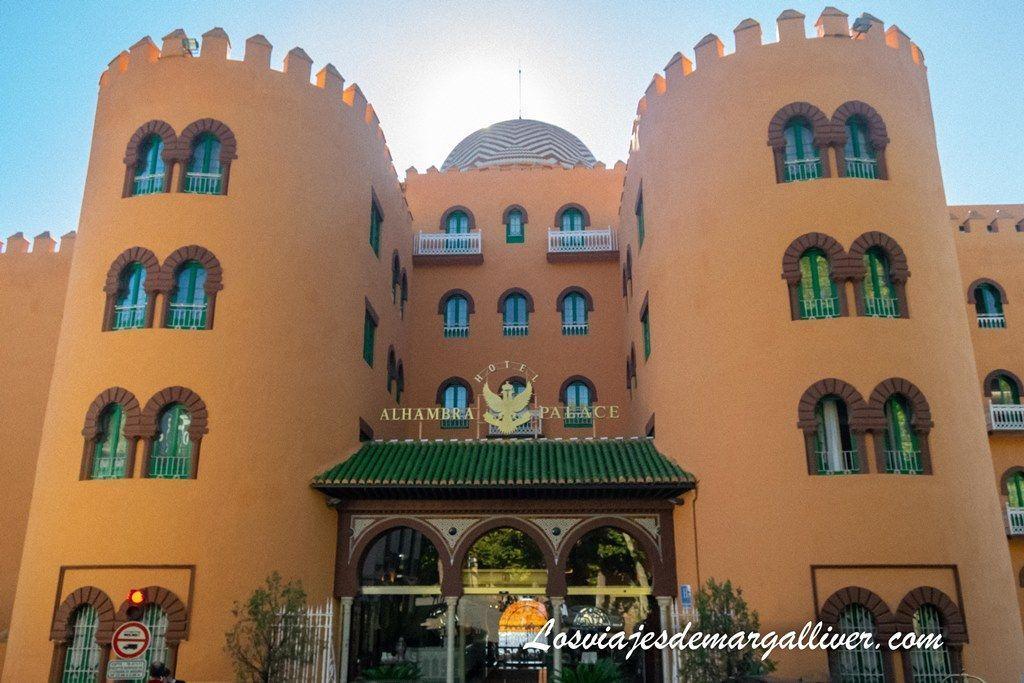 Hotel Alhambra Palace en Granada - Los viajes de Margalliver