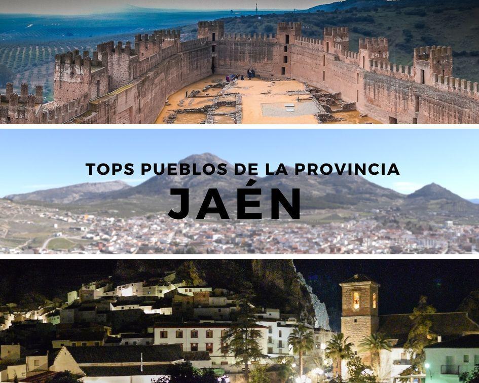 portada de pueblos de Jaén - Los viajes de Margalliver