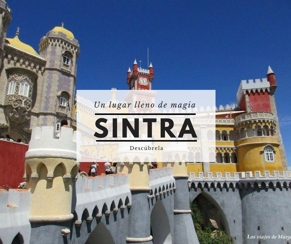 Portada palacio da pena en Sintra - Los viajes de margalliver