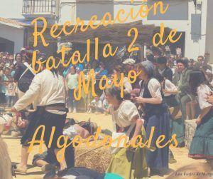 Algodonales, recreación batalla del 2 de mayo
