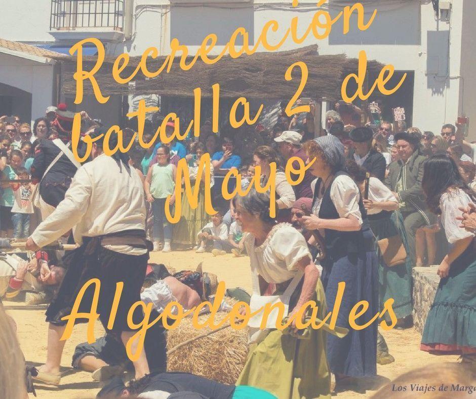 Algodoleños siendo fusilados, Algodonales la recreación batalla del 2 de Mayo- los viajes de margalliver