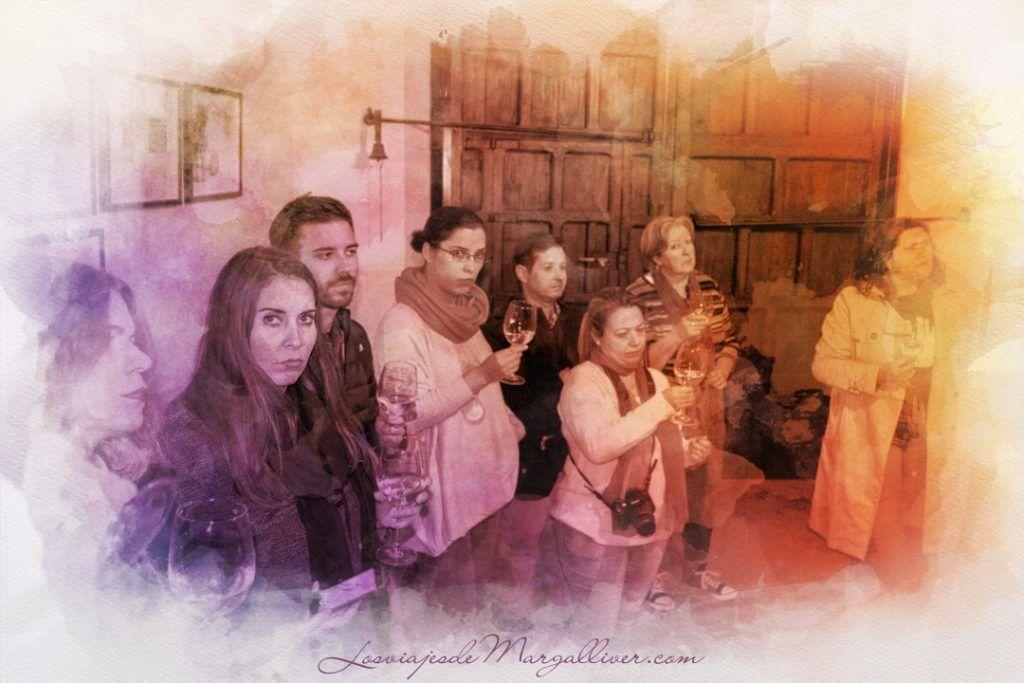 cata en la bodega Alfolí en Eliossana, que ver en Lucena - Los viajes de Margalliver