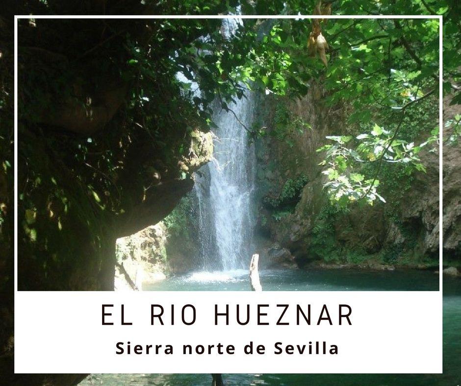 cascada hueznar en la sierra de sevilla - Los viajes de Margalliver