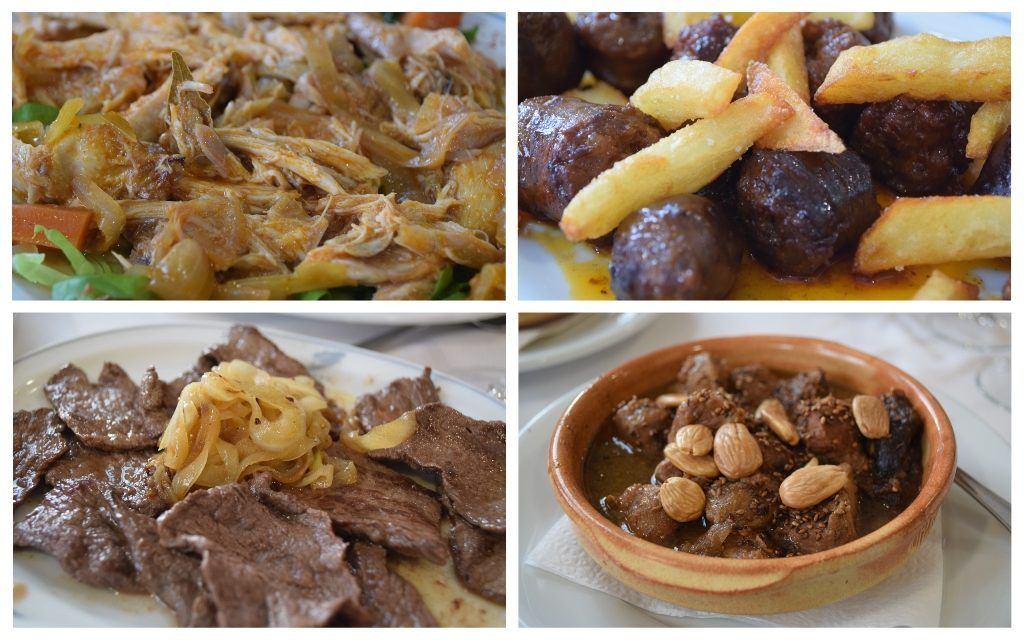 Comida del Restaurante Hotel Baños , qué ver y comer en Baños de la Encina - Los viajes de Margalliver