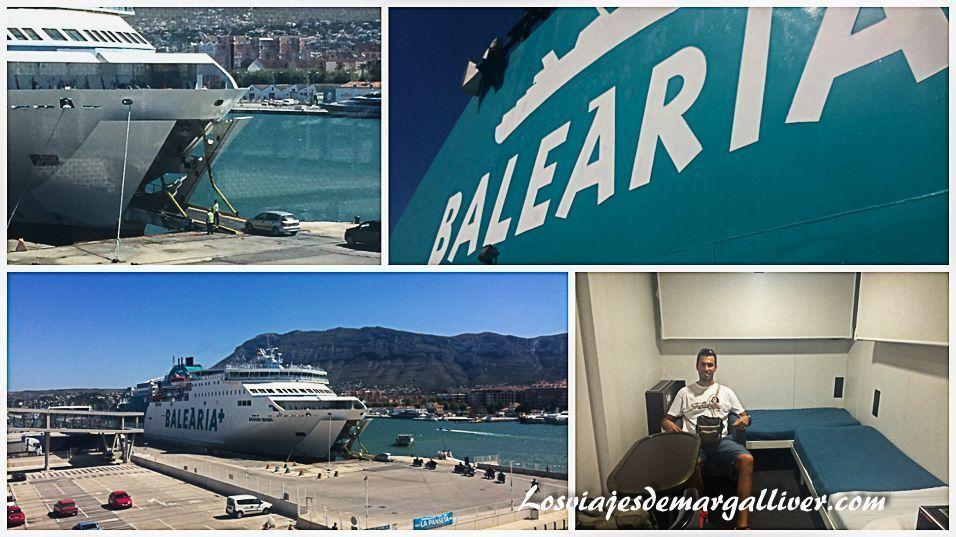 Ferry Bahama Mama de Baleária - Los viajes de Margalliver