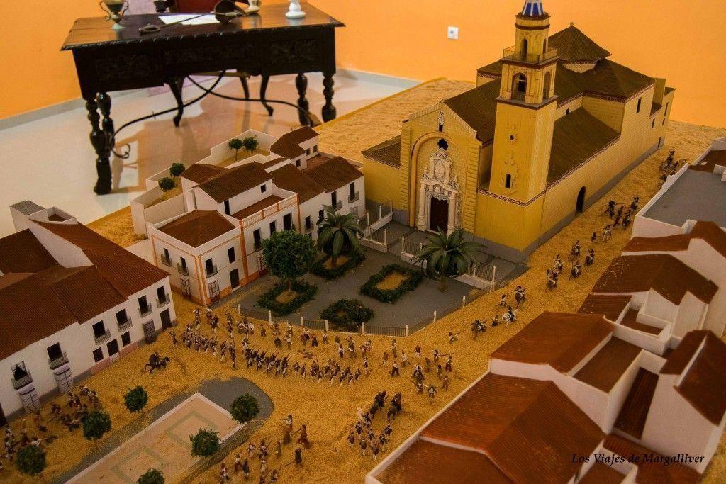 Maqueta de Algodonales la recreación batalla del 2 de Mayo - Los viajes de Margallvier