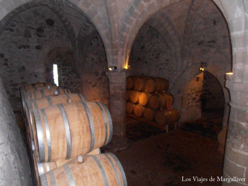 Bodega del castillo de Chillon - Los viajes de Margalliver