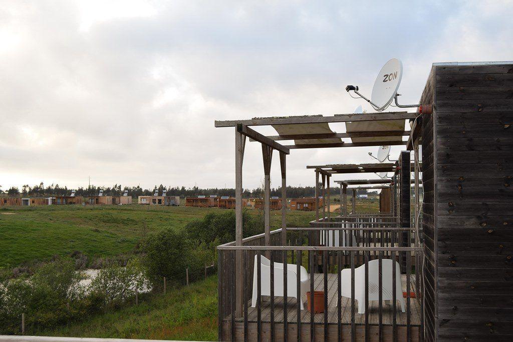 Vista desde nuestra terraza en nuestro bungalow de Zmar Eco Experience - Los viajes de Margalliver