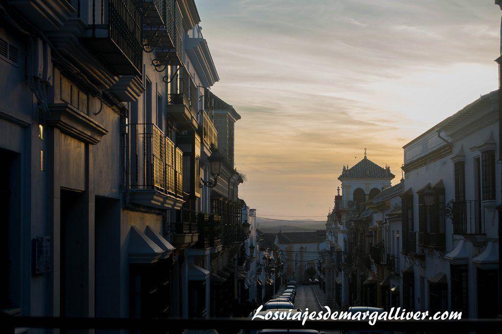 Calle San Pedro en Osuna, a una hora de - Los viajes de Margalliver