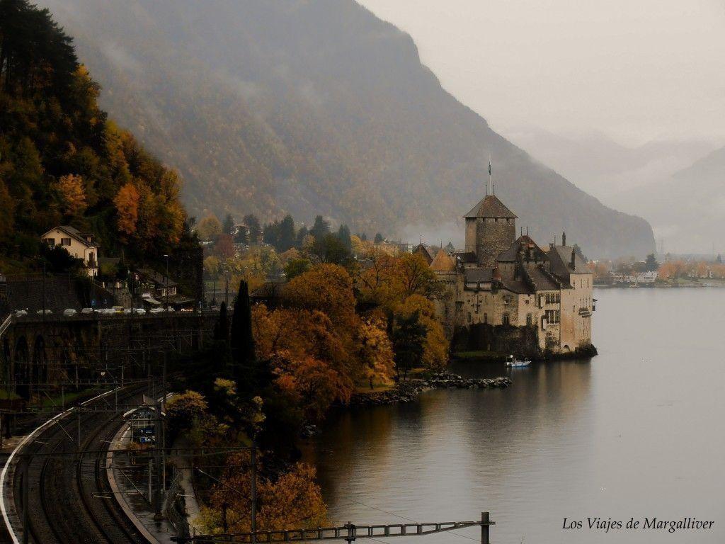 Castillo de Chillon en Montreux - Los viajes de Margalliver