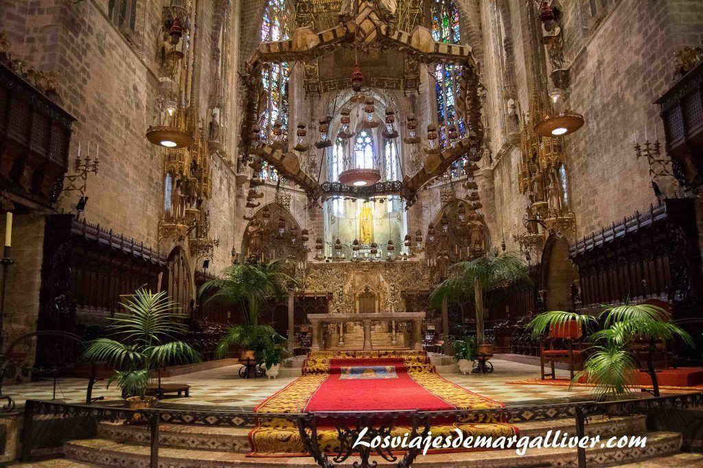 catedral de palma de mallorca en nuestra ruta en coche por Mallorca en 7 días - los viajes de margalliver