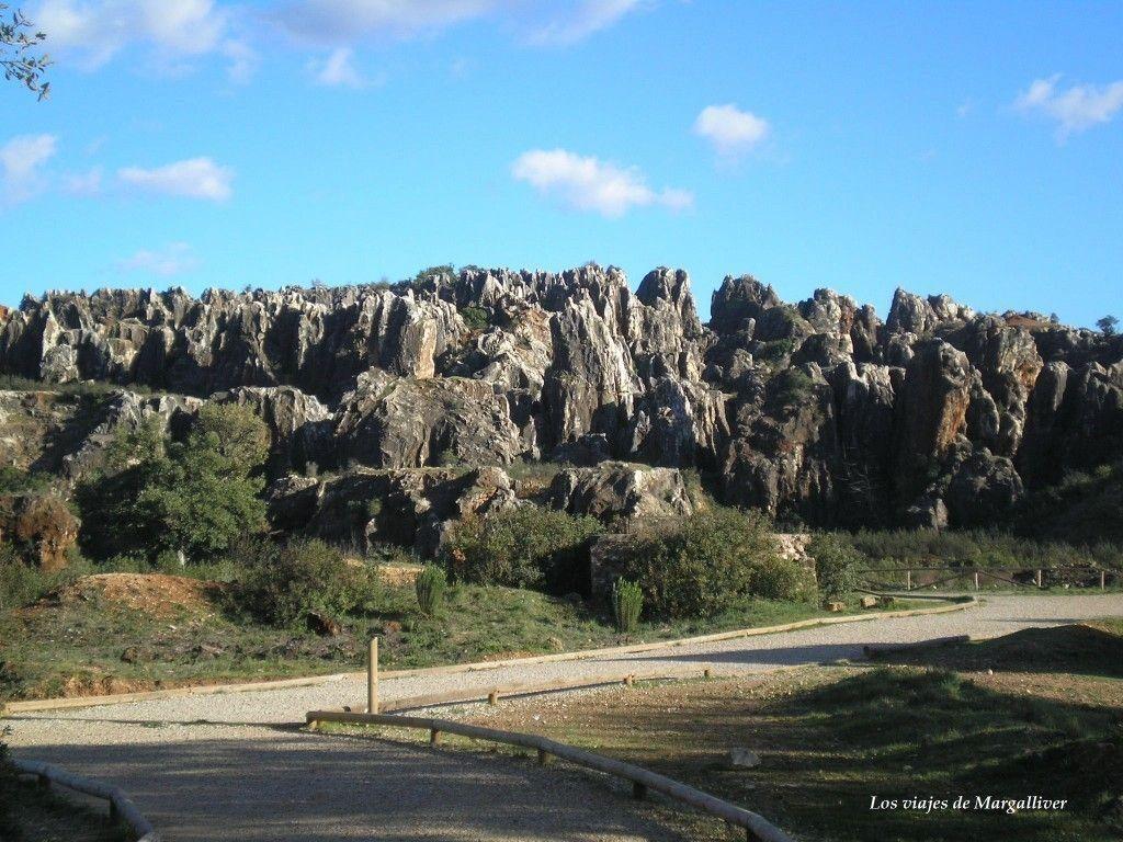 Cerro del Hierro en la sierra norte de Sevilla - Los viajes de Margalliver