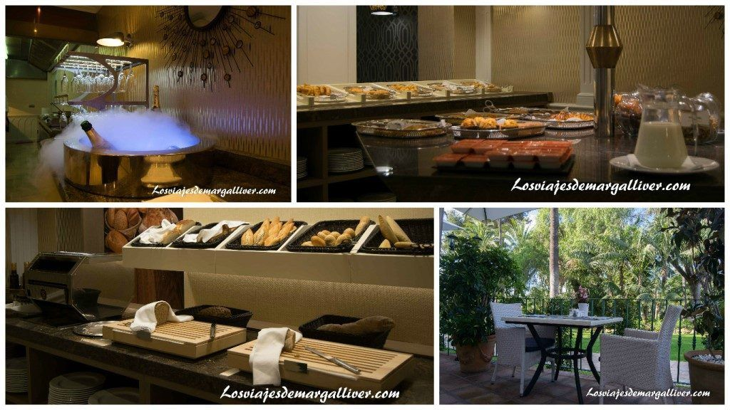 Desayuno Buffet en el Hotel los Monteros en Marbella - Los viajes de Margalliver
