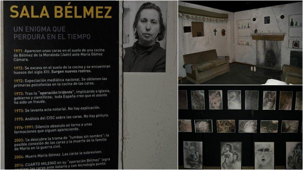 Exposición cuarto milenio , las caras de Belmez - Los viajes de Margalliver