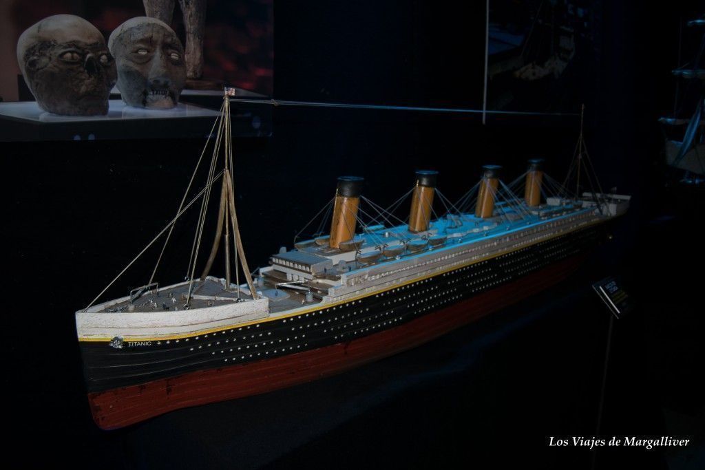 Exposición Cuarto Milenio, El Titanic - Los viajes de Margalliver