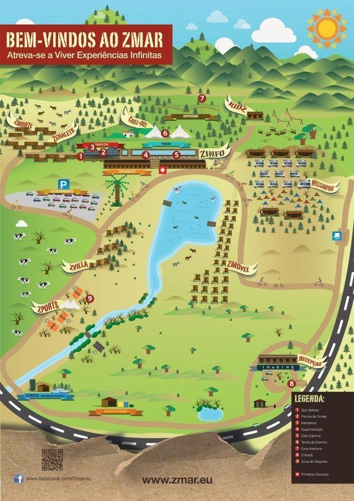 mapa zmar eco campo - Los viajes de Margalliver
