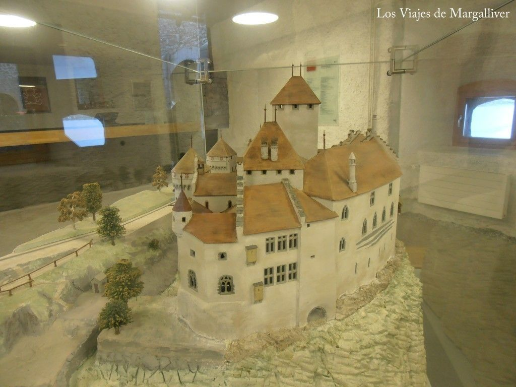 maqueta del castillo de Chillon - Los viajes de Margalliver